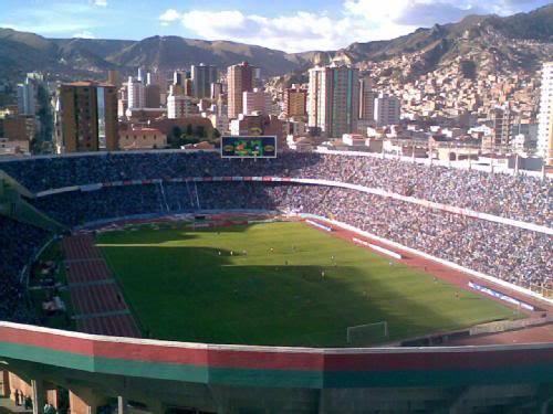 Estadio Hernando Siles - La Paz, Boliwia