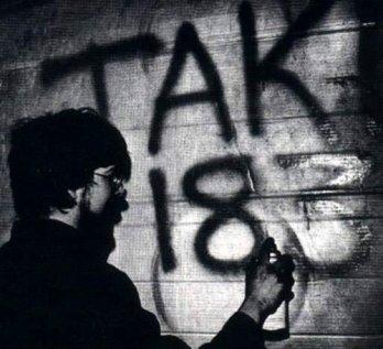 Pierwsze graffiti w New Jorku - TAKI 183